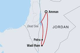 Jordan Country Map Jordan Tours U0026 Travel Intrepid Travel Us