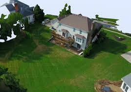 home 3d modeling and drone surveying
