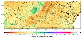 Southeast Map Prism Precipitation Maps For The Southeast U S Southeast
