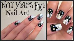 new years eve nail art no tools needed missjenfabulous youtube