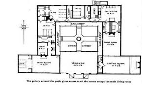 Ranch Style House Plans by House Plans Courtyard Ranch Style Likewise Modern U Shaped House