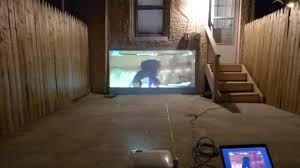 crystal edge technology build your ultimate outdoor projector