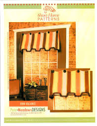 window curtain valances designs pate meadows mccalls curtain