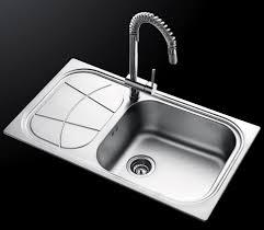 Singlebowl Kitchen Sink  Stainless Steel  With Drainboard BIG - Foster kitchen sinks