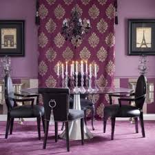 Purple Dining Room Best Fresh Purple Dining Room Accent Wall 17400