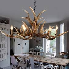 Home Decoration Lamps Online Get Cheap Resin Antlers Aliexpress Com Alibaba Group
