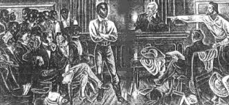 Slave Trade Essay Amistad  Seeking Freedom in Connecticut   A     SlideShare The chained fist of the statue celebrating the emancipation of slaves in  the US  Photo