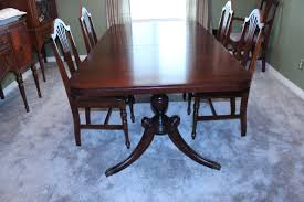 Used Dining Room Furniture Chair Archaicfair Duncan Phyfe Table 6 Chairs Fresh Vintage Nc