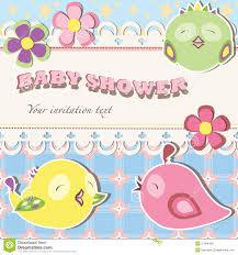 baby shower bird invitations theruntime com