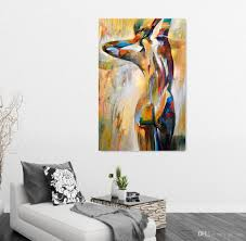 Art On Walls Home Decorating by Body Art Portrait Painting Figure Oil Painting Home