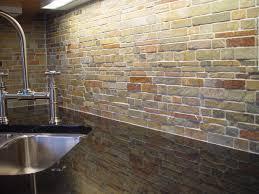 excellent natural patterns subway slate backsplash as decorate