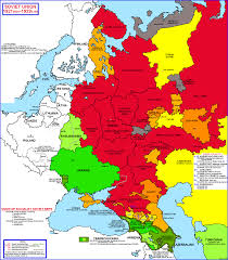 Western Europe Political Map by Historical And Political Maps Of The Soviet Union