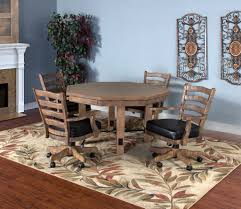 convertible poker u0026 dining table puebla by sunny designs 1006dw
