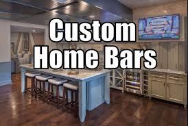 Home Bar Interior Design 30 Custom Home Bars Design Ideas Youtube