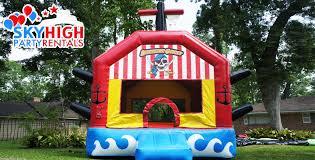 halloween bounce house pirates adventure galley moonwalk sky high party rentals