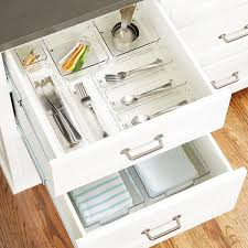linus shallow drawer organizers the container store