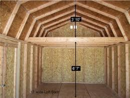 better built barns loft barns better built barns