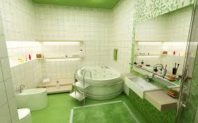 bathroom astounding green full tile wall along design ideas with