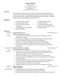 Maintenance Technician Resume Sample by Absolutely Smart Maintenance Resume Sample 11 Unforgettable