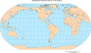 Peters Projection World Map by Maps Of The World