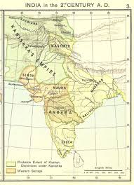 Ancient India Map by An Estimate Of Kanishka One Of The Greatest Monarchs Of Ancient India