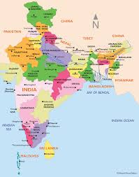 Ancient India Map by India Tours Natural Focus Safaris