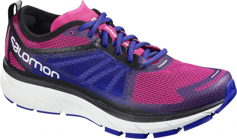 Salomon Sonic RA Road Running Shoe Pink Yarrow/Surf The Web/White 7.5 US Regular L40143900-7.5