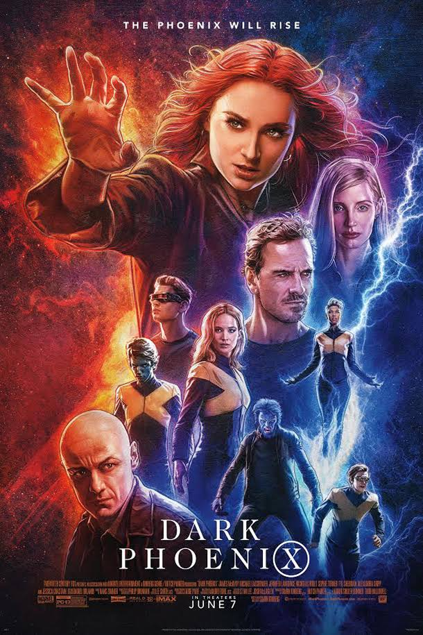 X-Men Dark Phoenix (2019) NEW Dual Audio Hindi 350MB DVDScr 480p x264