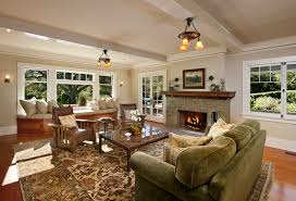 craftsman house plans with interior photos in traditional
