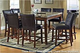 Steve Silver Dining Room Furniture Amazon Com Steve Silver Montibello Counter Height Marble Table