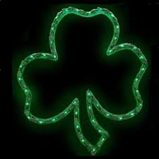 illuminated halloween decorations shamrock lighted window decoration american sale