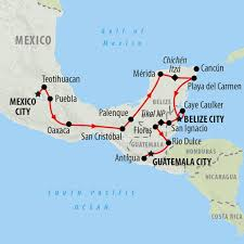 Mexico Cities Map by Mexico Tours Holidays To Mexico On The Go Tours Au