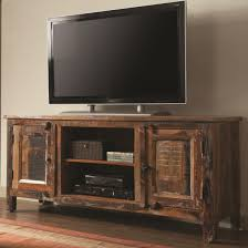 Rustic Wood Living Room Furniture Furniture Interesting Reclaimed Wood Tv Stand For Home Furniture