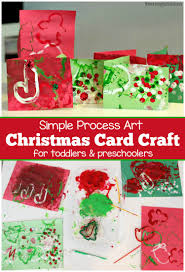 christmas card process art plus tips for cleaning messy art