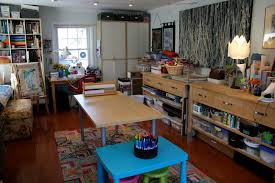 Art And Craft Studio Pink And Green Mama Guest Post Art Studio Tour For