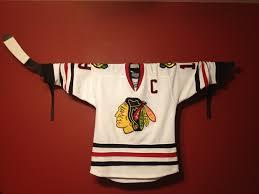 hockey valance holder jersey display or stick display valance