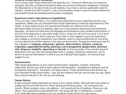 Resume Profile Section Examples by How To Write A Personal Profile For Your Resume