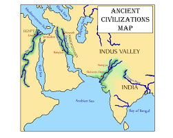 Ancient India Map by Glimmercat Introducing The Indus River Valley And The River Road