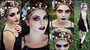 Goth Makeup For Halloween Striking Vampire Zombie Or Dead