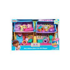 Doc Mcstuffins Home Decor Doc Mcstuffins Deluxe Clinic U0026 Pet Vet House Girls Pink Just