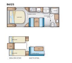 Caravan Floor Plan Layouts Bendigo Caravan Centre Element Range