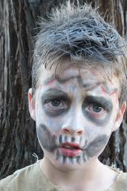 Halloween Zombie Makeup Ideas For Kids