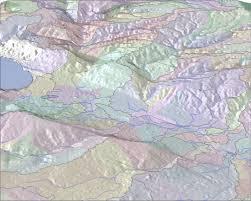 Hydrology Map Mediterranean Landuse Dynamics Interactive Map Server Data Download