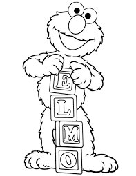 printable elmo coloring pages coloring me
