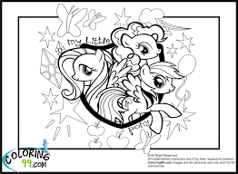 My Little Pony Colouring Pages Coloring Pages Of My Little Pony Coloring Page 4266