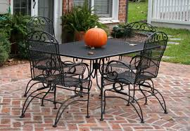 Painting Wicker Patio Furniture - colorful outdoor iron patio furniture white wicker iron patio