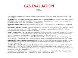 CAS  an experiential learning Creativity  action  service  CAS  is