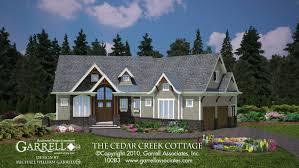 cedar creek cottage house plan house plans by garrell associates