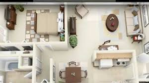 Bedroom Apartment House Plans YouTube - Apartment house plans designs