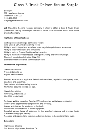Oilfield Resume Objective Examples by Cdl Truck Driver Cover Letter